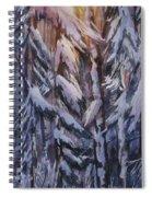 Snow Splattered 1 Spiral Notebook