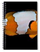 Snowflake Clownfish Spiral Notebook