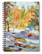Snowy Autumn - Plein Air Spiral Notebook