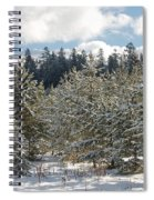 Snowy Forest Spiral Notebook
