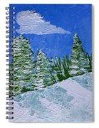 Snowy Pines Spiral Notebook