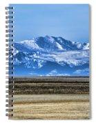 Snowy Rockies Spiral Notebook