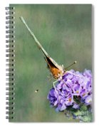 So What Butterfly Spiral Notebook