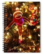 Sock Monkey Is In The Season Spiral Notebook