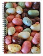 Soda Fountain Jelly Bellies Spiral Notebook