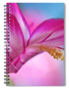 Soft And Delicate Cactus Bloom Spiral Notebook