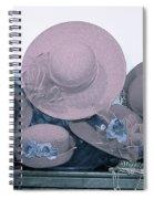 Soft Hats  Spiral Notebook