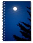 Soft Moon Spiral Notebook