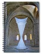 Soft Sculpture In A Monastery Spiral Notebook