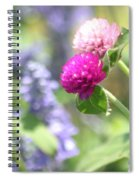 Softness In The Garden Spiral Notebook
