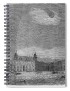 Solar Eclipse, 1858 Spiral Notebook