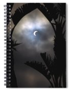 Solar Eclipse II Spiral Notebook