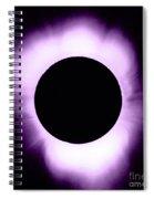 Solar Eclipse Spiral Notebook