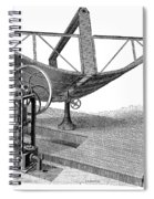 Solar Engine, 1884 Spiral Notebook