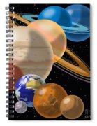 Solar System Spiral Notebook