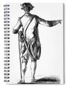 Soldier, 18th Century Spiral Notebook