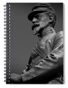 Soldier In Bronze  Spiral Notebook
