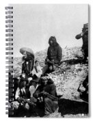 Soldiers And Scouts Spiral Notebook
