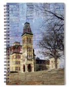 Soldiers Home And Brick Spiral Notebook