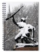 Soldiers In The Snow Spiral Notebook