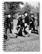 Soldiers March Spiral Notebook