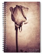 Solitaire Rose 1.0 Spiral Notebook