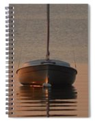Solitary Sailboat Spiral Notebook