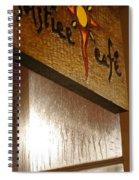 Solstice Cafe Spiral Notebook