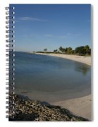 Sombrero Beach Spiral Notebook