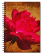 Song Of The Last Rose Spiral Notebook