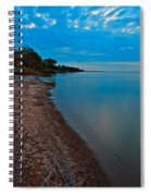 Soothing Shoreline Spiral Notebook