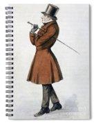 Soren Kierkegaard Spiral Notebook
