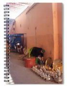 Souk In Marrakesh 04 Spiral Notebook