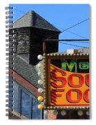 Soul Food Spiral Notebook