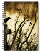 Soulful Crow Spiral Notebook