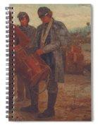 Sounding Reveille Spiral Notebook