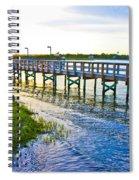 Soundside Park Surf City Spiral Notebook