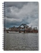 South Buffalo Rail Bridge Spiral Notebook