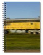South Dakota Central Train Spiral Notebook