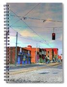 South Main Street Memphis Spiral Notebook