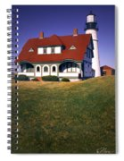 South Portland Lighthouse Spiral Notebook