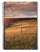 South Saskatchewan River Near Leader Spiral Notebook