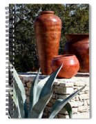 South Western Pottery And Cactus Spiral Notebook