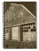 Southampton Potato Barn II Spiral Notebook