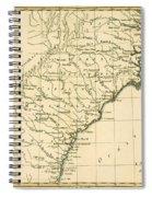 Southeast Coast Of America Spiral Notebook