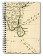 Southern India And Ceylon Spiral Notebook