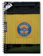 Southern Pacific Spiral Notebook
