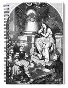 Southern Pardon Cartoon Spiral Notebook
