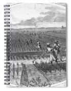 Southern Rice Field Spiral Notebook