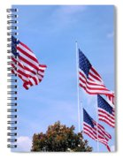 Southern Skies Spiral Notebook